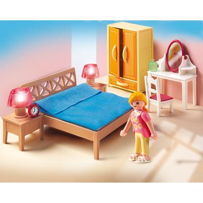 Chambre des parents avec coiffeuse playmobil 5331 for Chambre avec coiffeuse