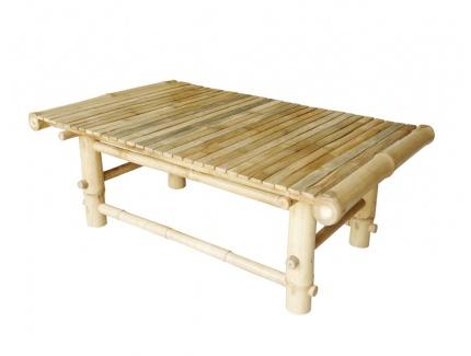 Table basse robinson en bambou acheter ce produit au for Chemin de table bambou
