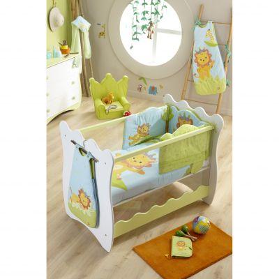 edredon couvre lit loulou le lion de katherine roumanoff acheter ce produit au meilleur prix. Black Bedroom Furniture Sets. Home Design Ideas