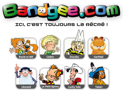 BANDGEE.com - Site pour enfants