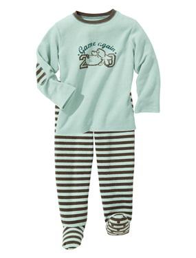 ec3d80884c49e Pyjama garcon en eponge bouclette