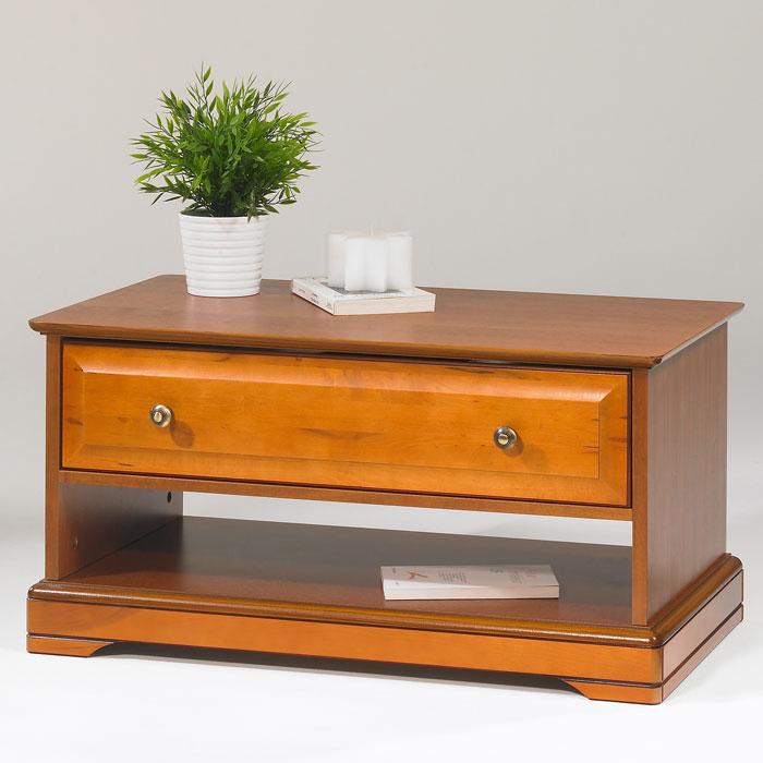 Table basse style louis philippe 1 tiroir alsace anniversaire 40 ans acheter ce produit au - Table basse louis philippe ...