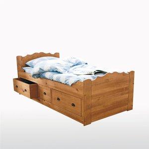 lit bateau 3 tiroirs pin massif acheter ce produit au meilleur prix. Black Bedroom Furniture Sets. Home Design Ideas
