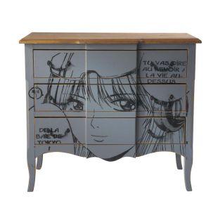 commode manga acheter ce produit au meilleur prix. Black Bedroom Furniture Sets. Home Design Ideas
