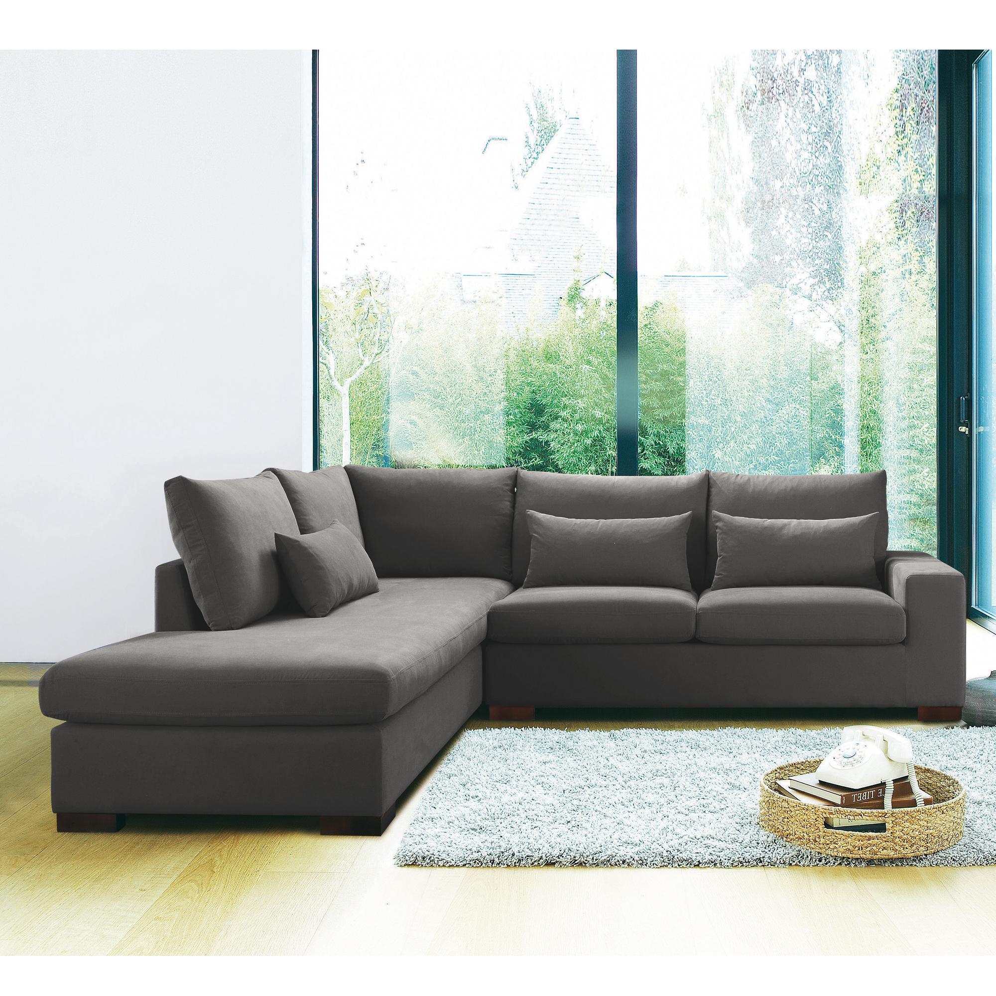 canap d 39 angle gauche fixe vittorio 2 gris perle anniversaire 40 ans acheter ce produit. Black Bedroom Furniture Sets. Home Design Ideas