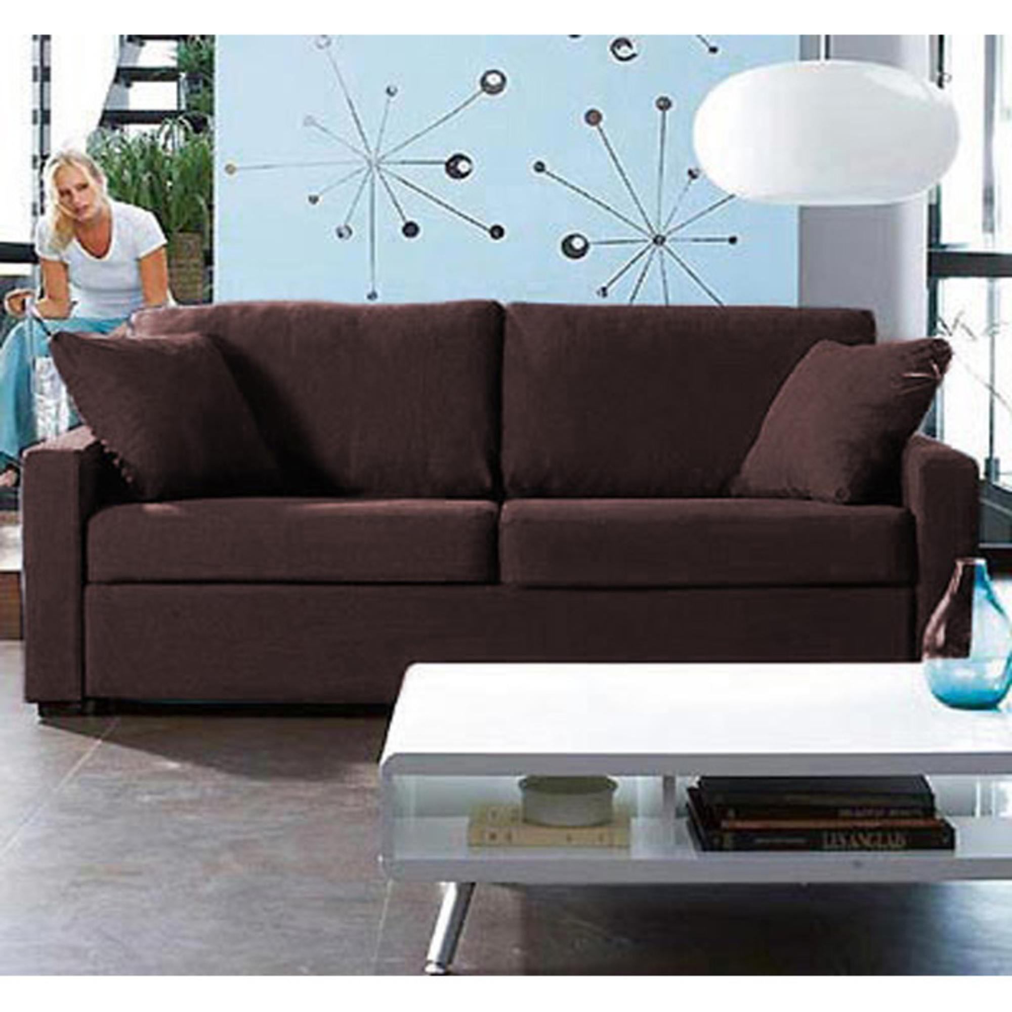 canap 3 places convertible bultex archy chocolat anniversaire 40 ans acheter ce produit. Black Bedroom Furniture Sets. Home Design Ideas