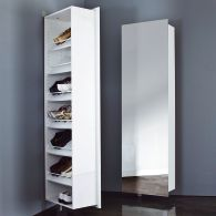 range chaussures pivotant avec miroir acheter ce produit. Black Bedroom Furniture Sets. Home Design Ideas