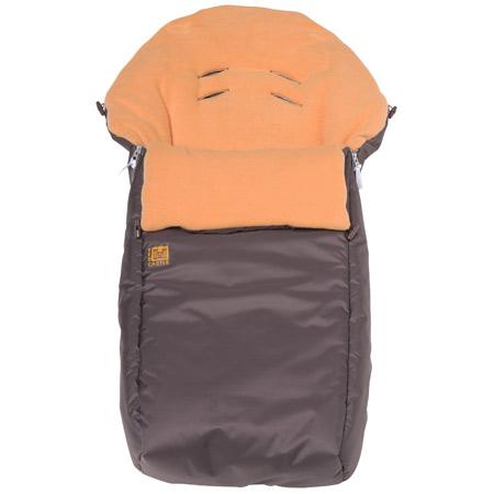 chanceli re pour poussette marron glac orange. Black Bedroom Furniture Sets. Home Design Ideas