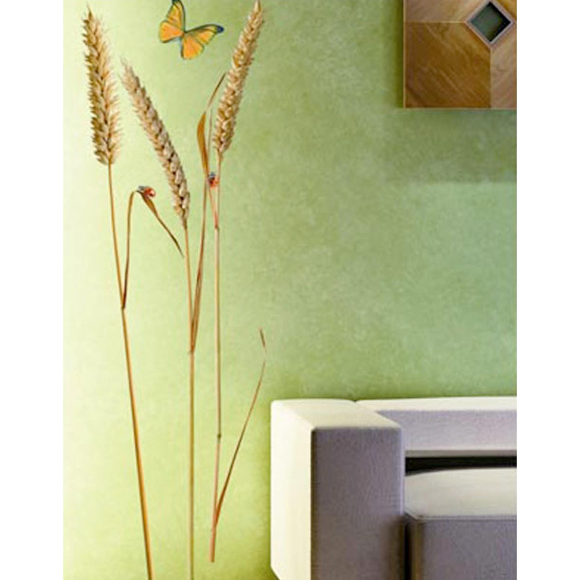 sticker adh sif mural nature d co 3 pis de ble acheter ce produit au meilleur prix. Black Bedroom Furniture Sets. Home Design Ideas