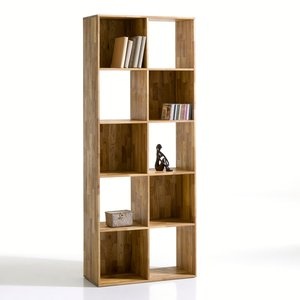 biblioth que 10 niches ch ne massif acheter ce produit au meilleur prix. Black Bedroom Furniture Sets. Home Design Ideas