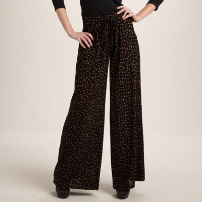 pantalon femme large. Black Bedroom Furniture Sets. Home Design Ideas