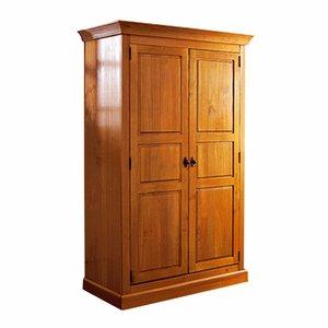 armoire pin massif penderie et ling re haut 190 cm acheter ce produit au meilleur prix. Black Bedroom Furniture Sets. Home Design Ideas