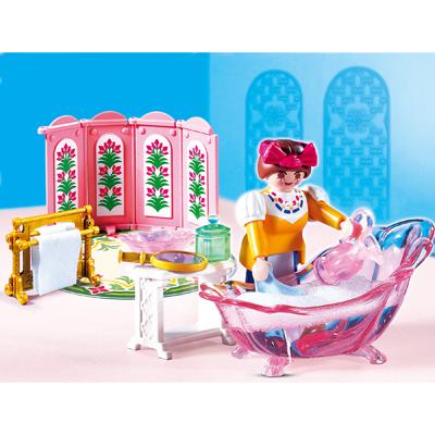 Salle de bain princesse et servante playmobil 4252 ...