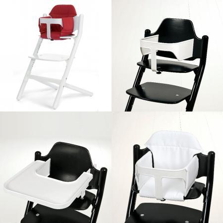 chaise haute sit avec coussin barre de s curit et tablette blanc acheter ce produit au. Black Bedroom Furniture Sets. Home Design Ideas