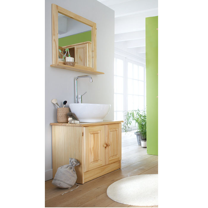 meuble sous lavabo baltimore 2 naturel frais de traitement de commande offerts acheter ce. Black Bedroom Furniture Sets. Home Design Ideas