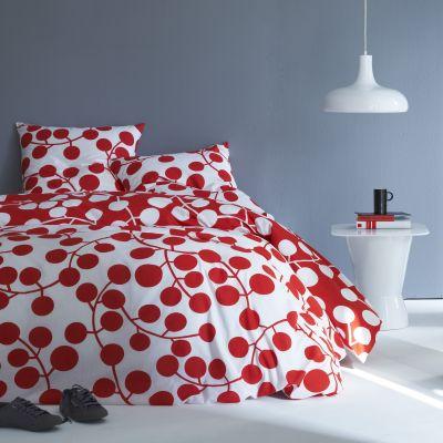parure housse de couette rouge 1 ou 2 taies d 39 oreiller colore acheter ce produit au meilleur. Black Bedroom Furniture Sets. Home Design Ideas