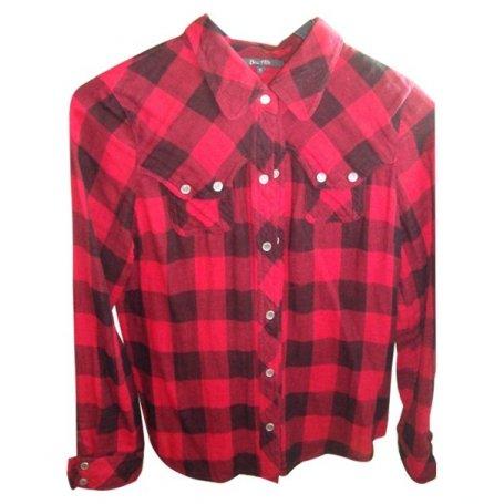 chemise rouge a carreaux noir bel air acheter ce produit. Black Bedroom Furniture Sets. Home Design Ideas