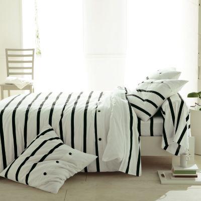 drap plat ray blanc violet en pur coton adara acheter ce produit au meilleur prix. Black Bedroom Furniture Sets. Home Design Ideas