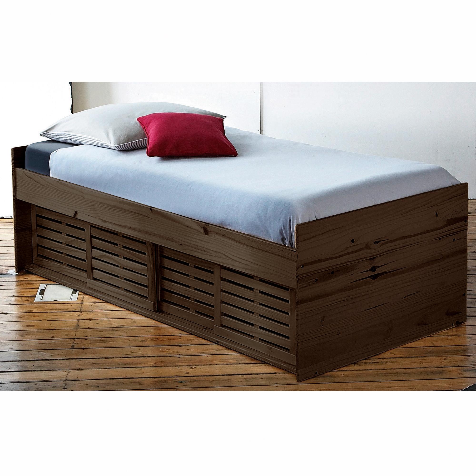 lit 90 x 190 cm mistral weng anniversaire 40 ans acheter ce produit au meilleur prix. Black Bedroom Furniture Sets. Home Design Ideas