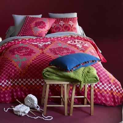 housse de couette imprim e pull over acheter ce produit au meilleur prix. Black Bedroom Furniture Sets. Home Design Ideas