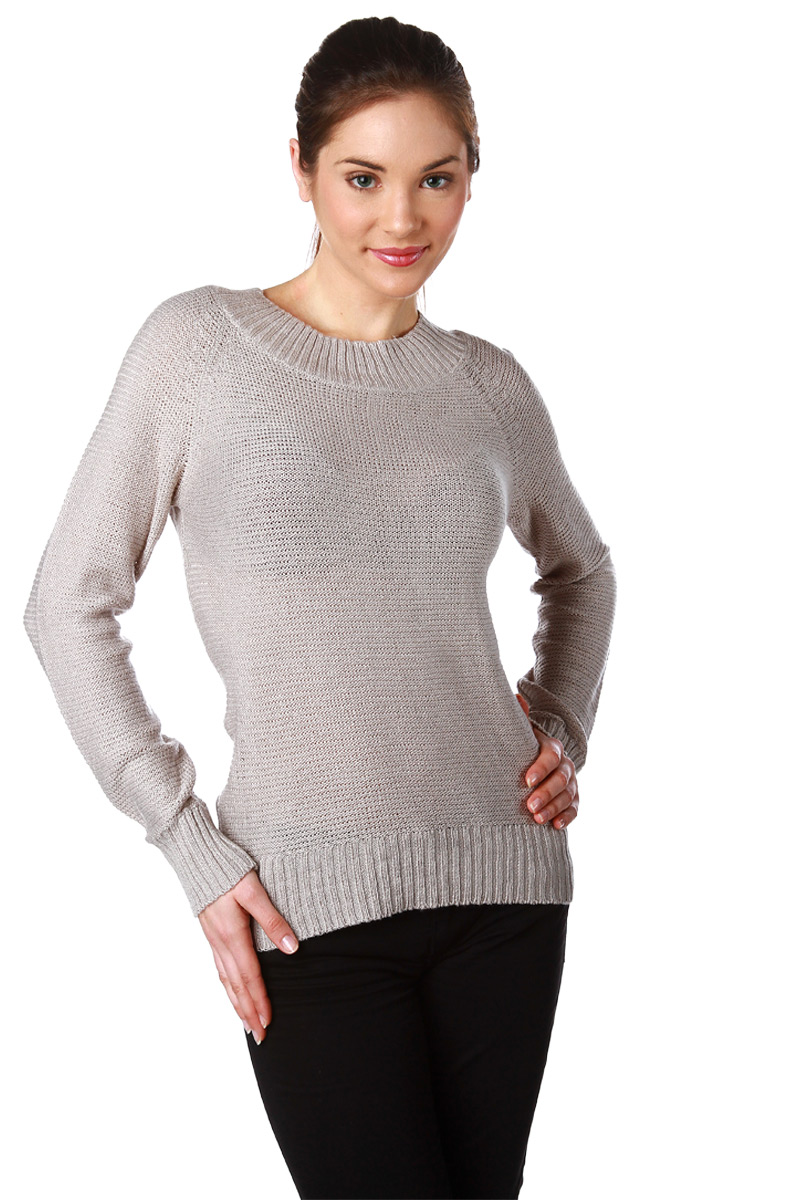 Pull Maille Femme Manches Longues Pull Manches Longues en Maille