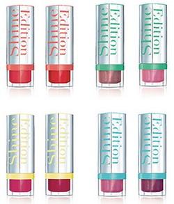 Rouges à lèvres Shine Edition