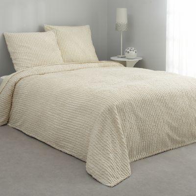 jet de lit tuft 100 coton 6 coloris au choix acheter ce produit au meilleur prix. Black Bedroom Furniture Sets. Home Design Ideas