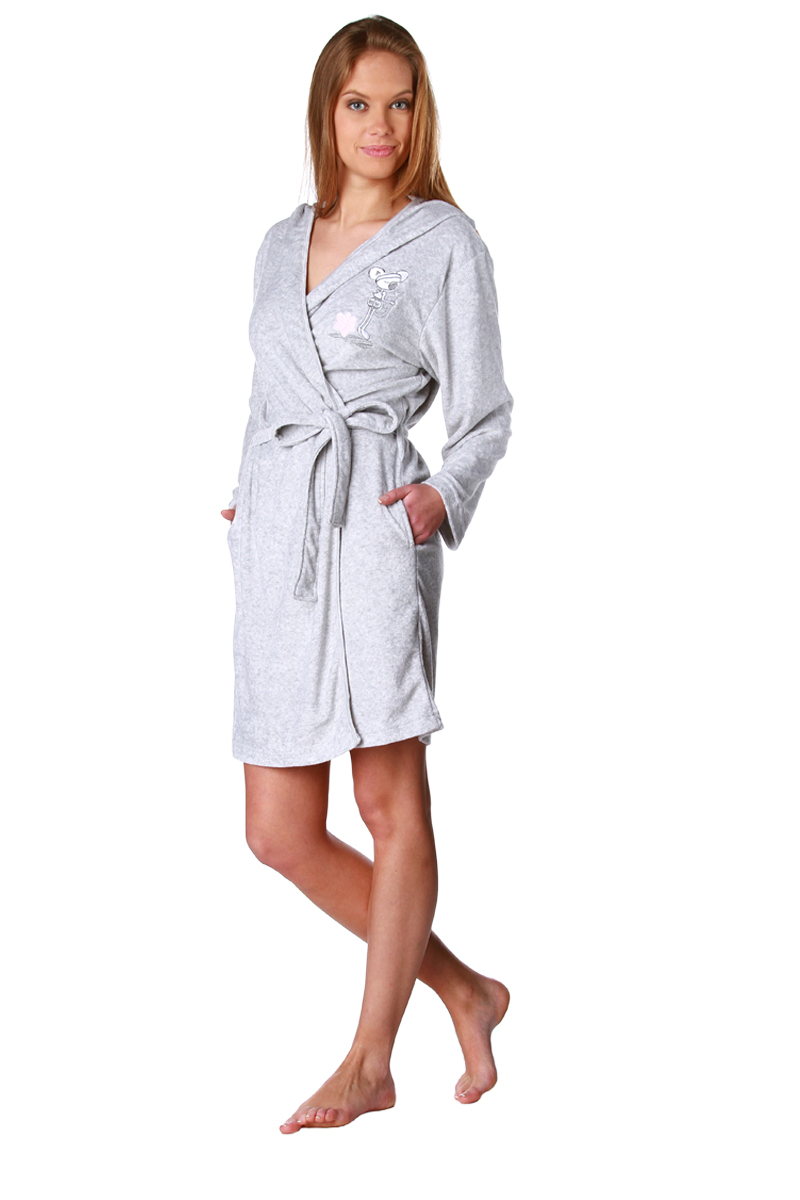 peignoir capuche en ponge du 34 36 au 46 48 lingerie acheter ce produit au meilleur prix. Black Bedroom Furniture Sets. Home Design Ideas