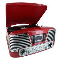 tourne disques radio cd encodeur bigben td79 rouge acheter ce produit au meilleur prix. Black Bedroom Furniture Sets. Home Design Ideas