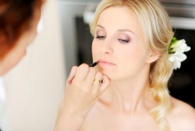 Un beau maquillage de mariée
