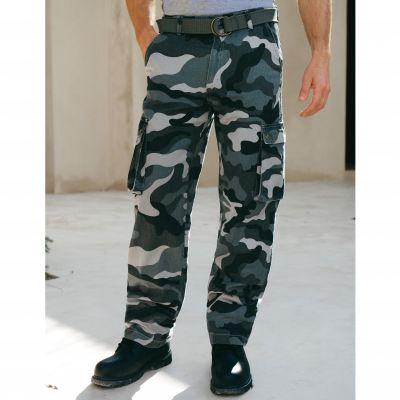pantalon style treillis camouflage gris homme du 36 au 54 acheter ce produit au meilleur prix. Black Bedroom Furniture Sets. Home Design Ideas