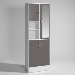 Armoire salle de bain bac linge int gr grimsby - Armoire suspendue salle de bain ...