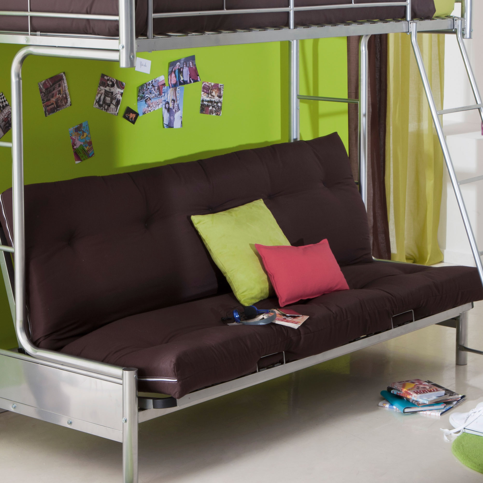Canape clic clac fly maison design for Housse futon montreal