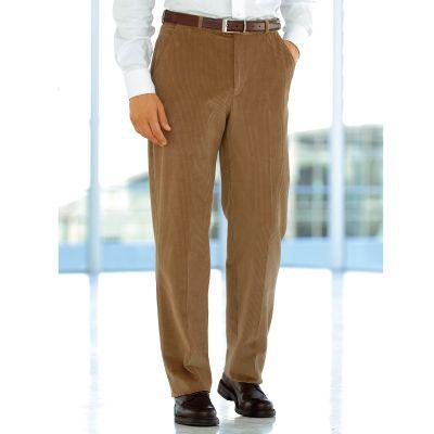 pantalon en velours extensible sans pinces ceinture. Black Bedroom Furniture Sets. Home Design Ideas