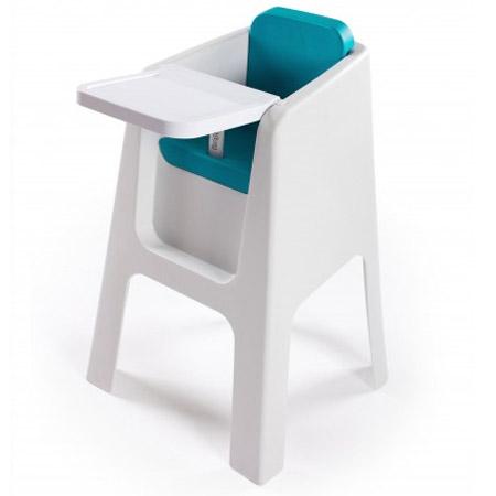 chaise haute trono blanc aqua acheter ce produit au meilleur prix. Black Bedroom Furniture Sets. Home Design Ideas