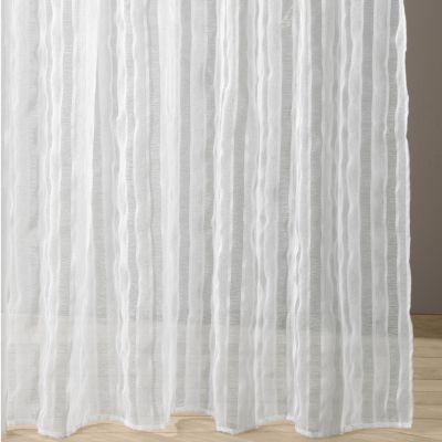 voilage galon fronceur pr t poser ray tiss acheter ce produit au meilleur prix. Black Bedroom Furniture Sets. Home Design Ideas