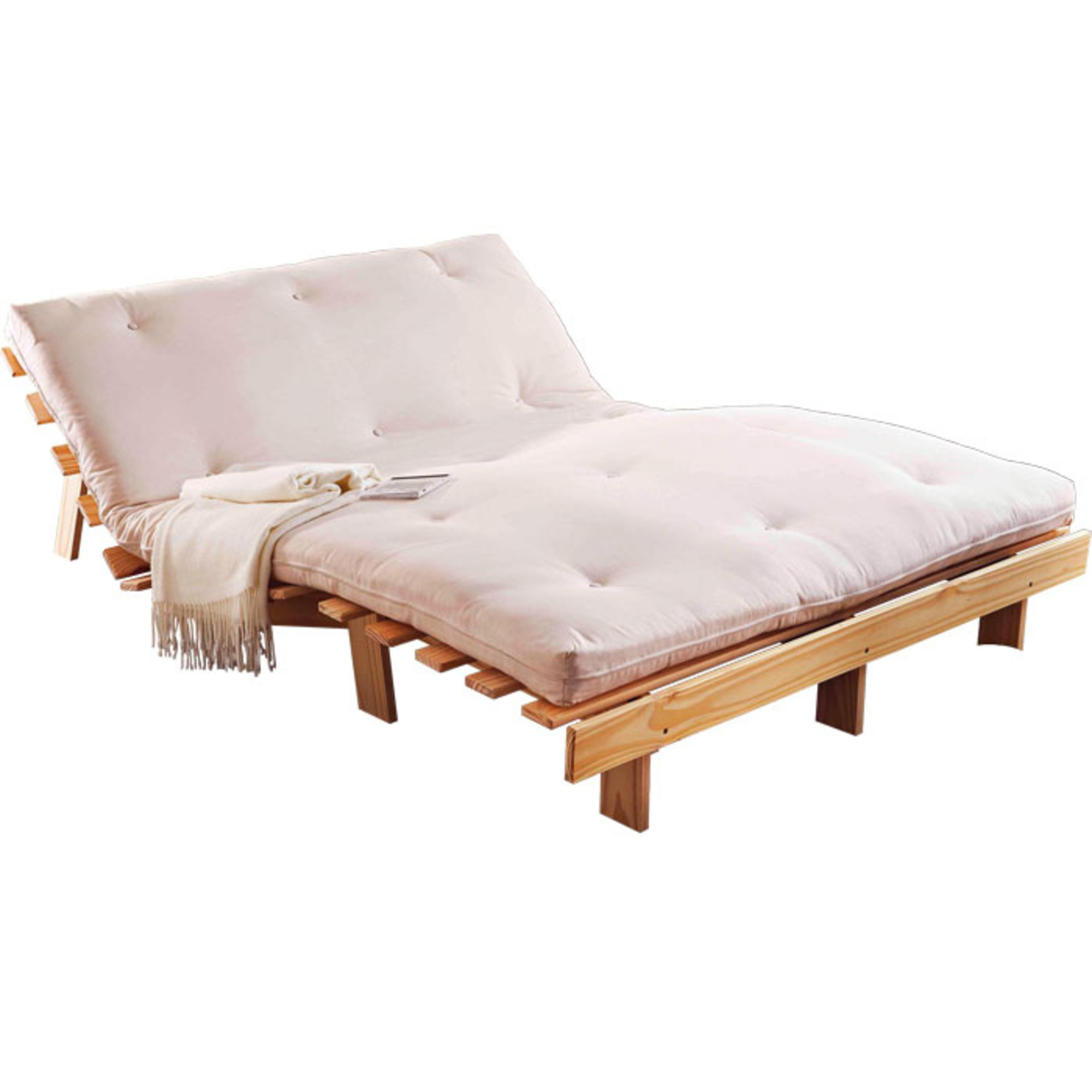 Canap lit futon 160x200 - Convertible 2 places fly ...