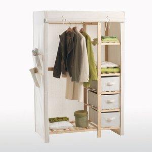 armoire penderie ling re acheter ce produit au meilleur. Black Bedroom Furniture Sets. Home Design Ideas