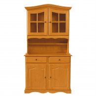 meubles encastr s buffet bas contemporain en chene. Black Bedroom Furniture Sets. Home Design Ideas