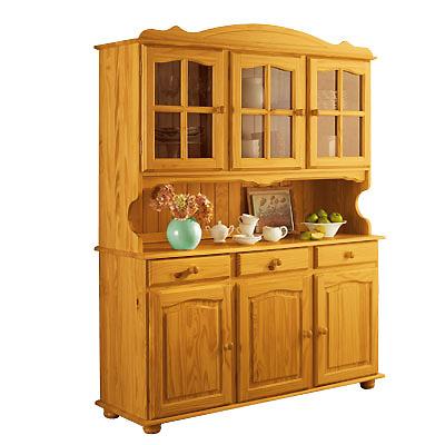 buffet vaisselier 6 portes province miel anniversaire 40 ans acheter ce produit au meilleur. Black Bedroom Furniture Sets. Home Design Ideas