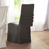 housse de chaise pliss e acheter ce produit au meilleur prix. Black Bedroom Furniture Sets. Home Design Ideas