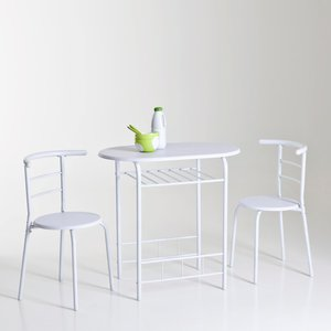 Ensemble gain de place table cuisine et 2 chaises - Ensemble de table de cuisine ...