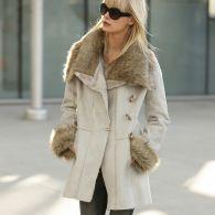 manteau imitation peau lain e femme du 36 au 48 acheter. Black Bedroom Furniture Sets. Home Design Ideas