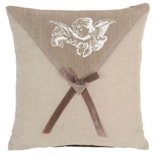 housse de coussin ange petit noeud acheter ce produit au meilleur prix. Black Bedroom Furniture Sets. Home Design Ideas