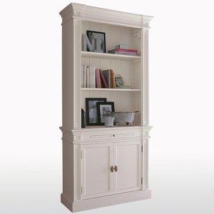 biblioth que apothicaire hauteur 2 m tresnottingham acheter ce produit au meilleur prix. Black Bedroom Furniture Sets. Home Design Ideas