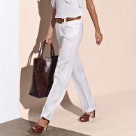 pantalon large en lin femme entrejambe 82 cm environ du 36 au 52 acheter ce produit au. Black Bedroom Furniture Sets. Home Design Ideas