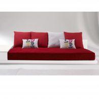 lots de 6 coussins d co love pour banquettes 140 et 190 cm acheter ce produit au meilleur prix. Black Bedroom Furniture Sets. Home Design Ideas
