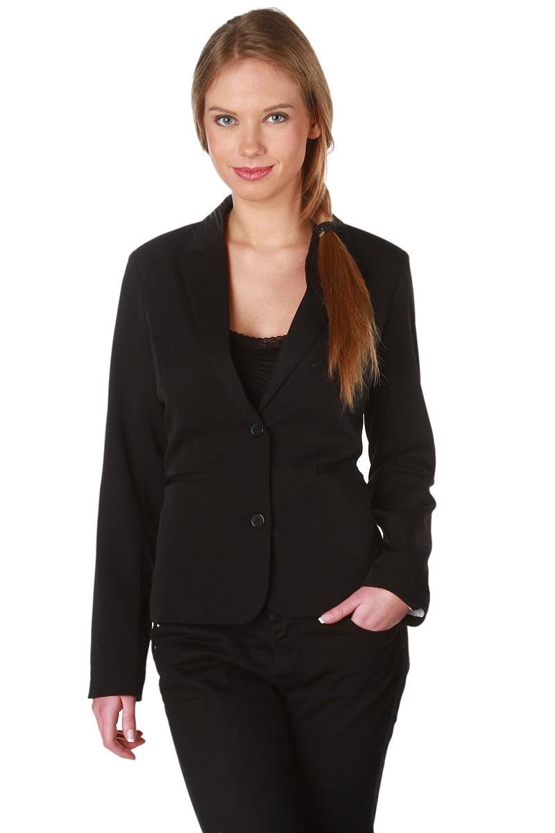 veste de tailleur noir coupe 2 boutons femme acheter ce produit au meilleur prix. Black Bedroom Furniture Sets. Home Design Ideas
