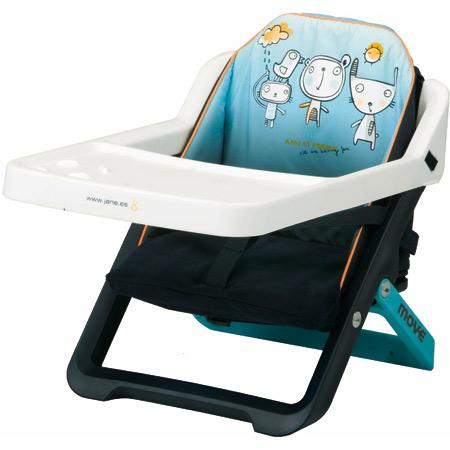 r hausseur de chaise move evo bleu acheter ce produit au meilleur prix. Black Bedroom Furniture Sets. Home Design Ideas