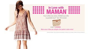 Op�ration In love with Maman chez Kooka� !